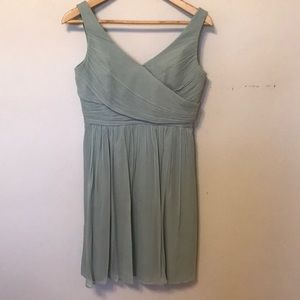 J. Crew Silk Chiffon Bridesmaid Dress